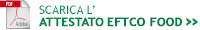 attestato EFTCO FOOD