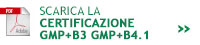 Certificazione GMP+B3 GMP+B4.1
