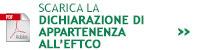 Dichiarazione di appartenenza all'EFTCO