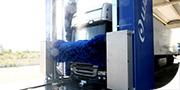 Lavaggio per automezzi con rulli adattabili