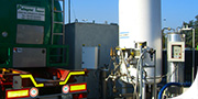 Pressurrizzazione cisterne con Co2 (anidride carbonica)
